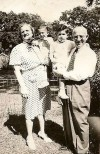 Peter and Paul Springberg with paternal grandparents - 1944